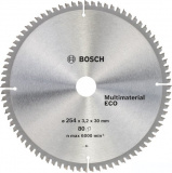 Bosch диск пильный ECO ALU/Multi 250х30х3.0мм z80 2608644393